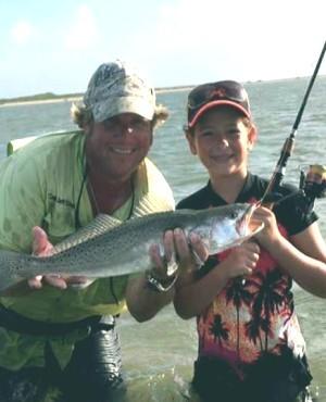 Cedar Bayou Surf Fishing